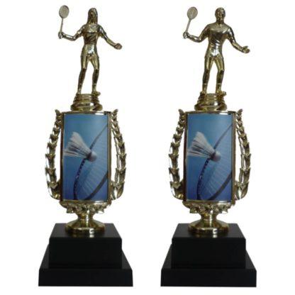 Badminton Sports Insert Trophy