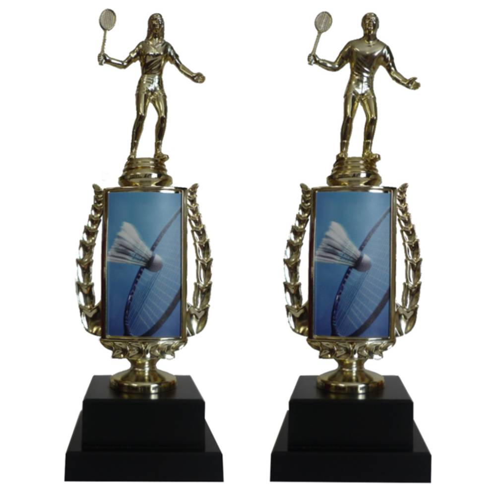 Badminton Sports Insert Trophy