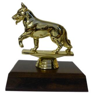 Alsatian Figurine