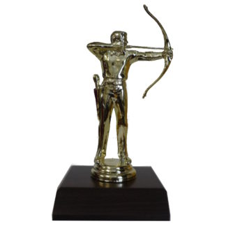 Archery Man Figurine