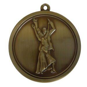Hi-Relief Ballroom Dancing Medal