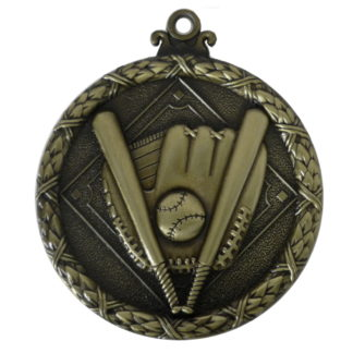 Gold Wreath Softball Medal