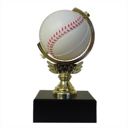 Baseball Spinner Trophy