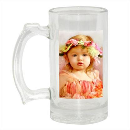 Personalised Photo Beer Glass