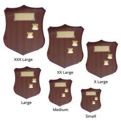 Walnut Gloss Shield