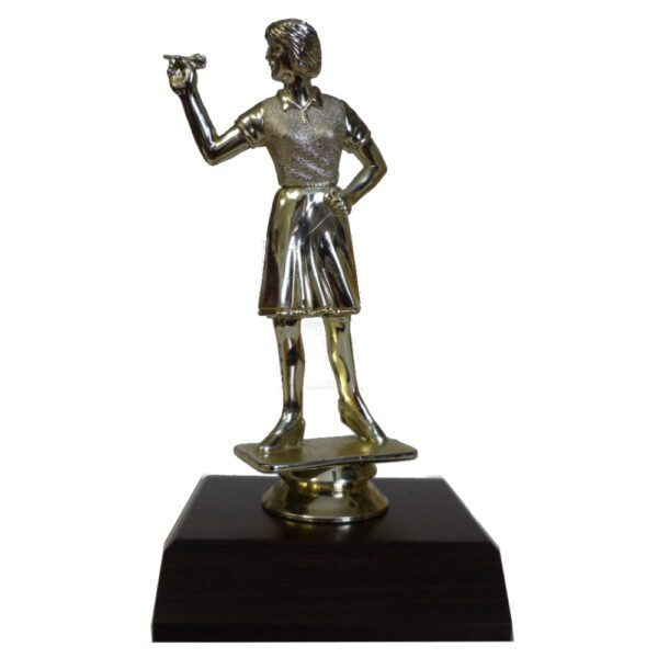 Darts Girl Figurine