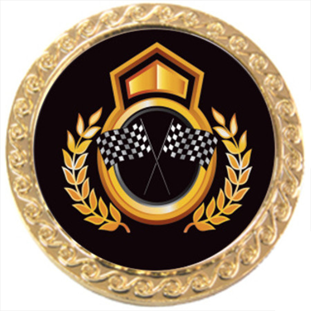 Decorative Round Badge