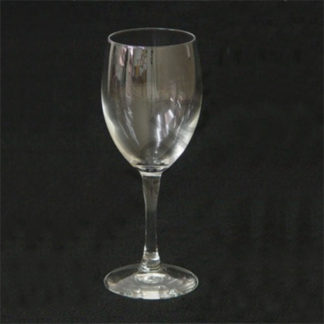 Diamante Aqua Wine Glass