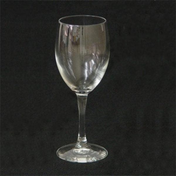Diamante Aqua Wine Glass