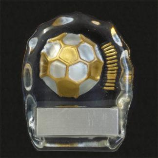 Glass Soccer Award