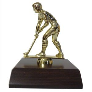 Hockey Man Trophy Figurine