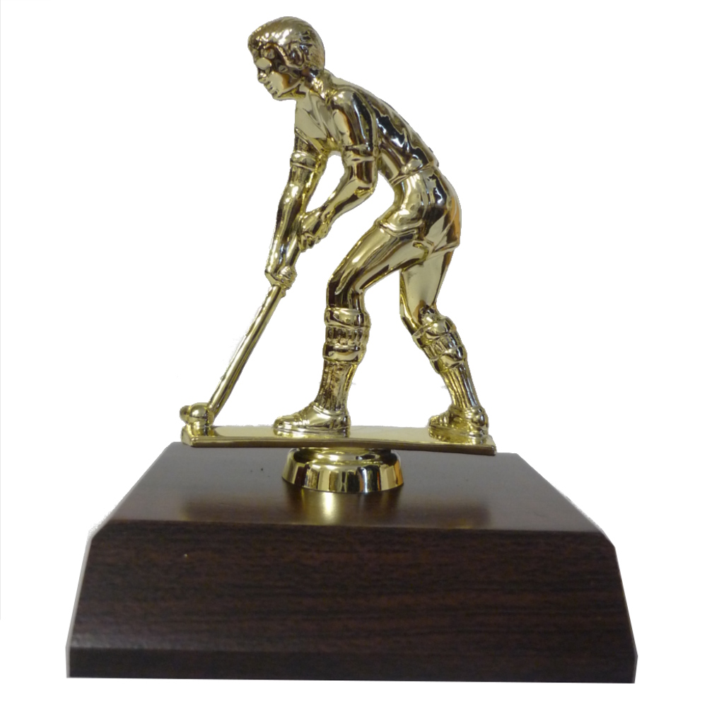 Hockey Male Figurine On Base