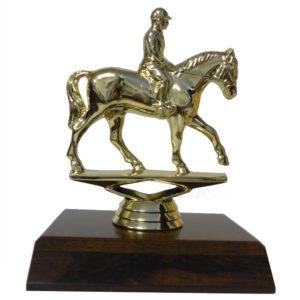 Horse Rider Figurine