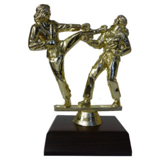 Karate Girls Figurine