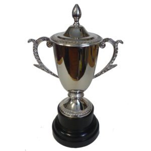 Decorative Trophy Cup With Lid