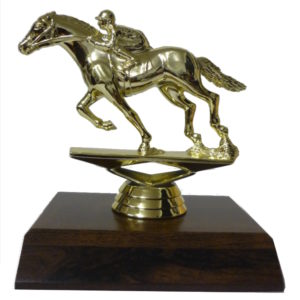 Race Horse Figurine