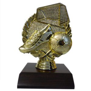 Soccer Wreath Figurine