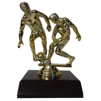 Soccer Double Figurine