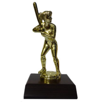 Softball Girl Figurine