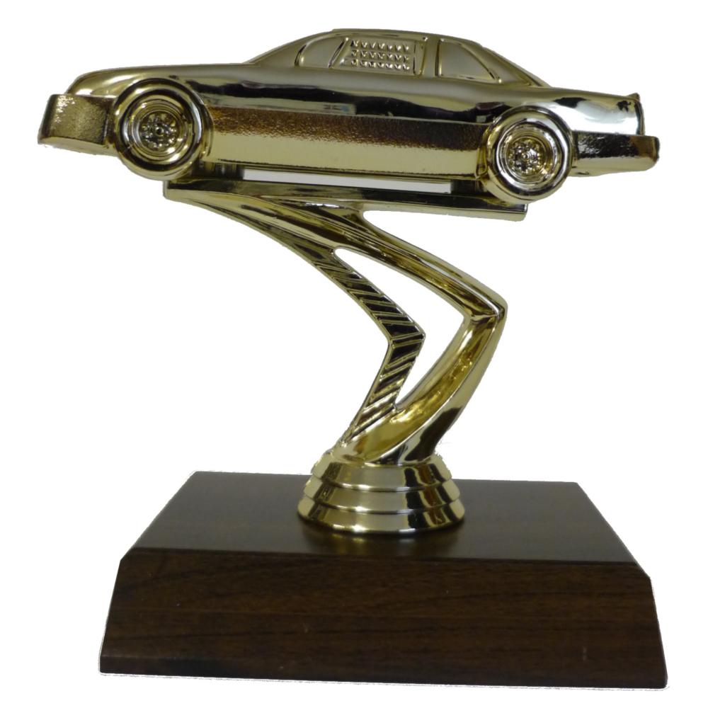 Stock Car Figurine On Base (Large)