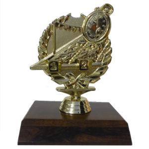 Swimming Wreath Trophy Figurine