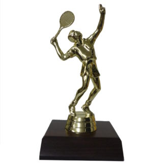 Tennis Male Figurine