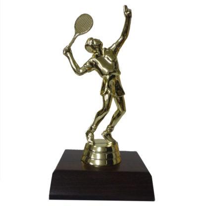 Tennis Male Figurine