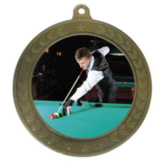 Billiards Medals