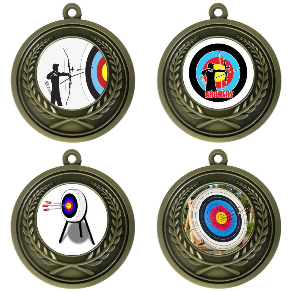 25mm Insert Archery Medal