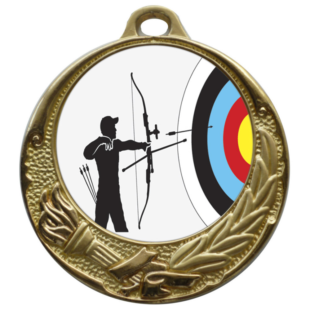50mm Insert Archery Medal