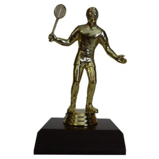 Badminton Man Figurine