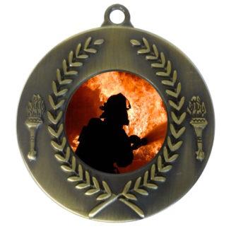 25mm Insert Firefighting Medal