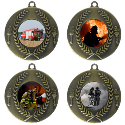 25mm Insert Firefighting Medal