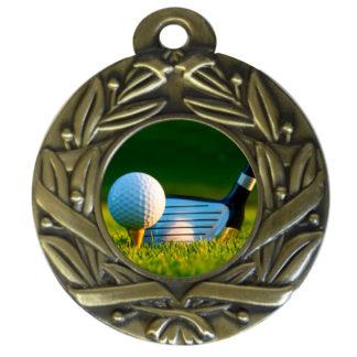 25mm Insert Golf Medal