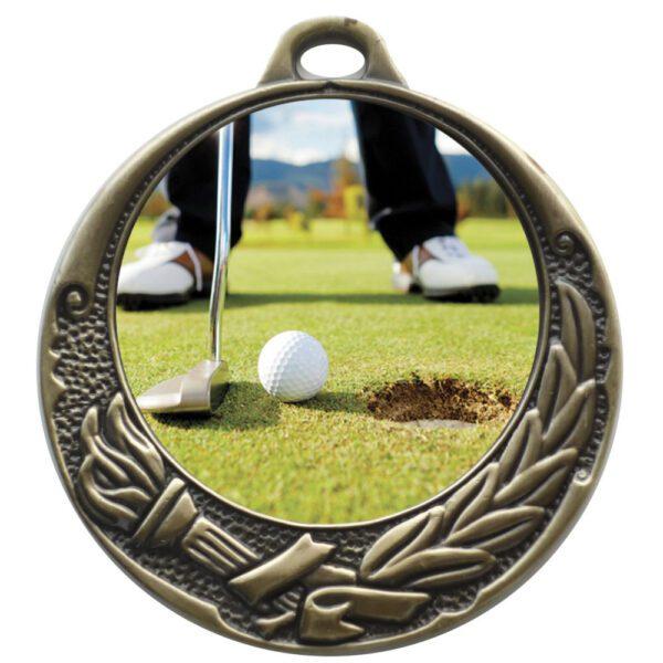 50mm Insert Golf Medal