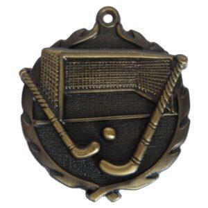 3D Gold Hockey Medal
