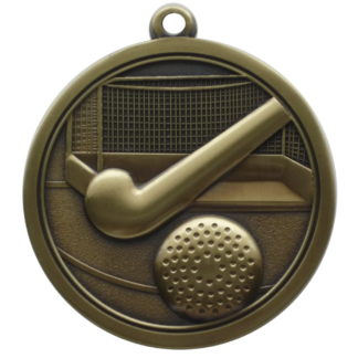 Hi-Relief Hockey Medal
