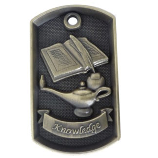 Dog Tag Knowledge Medal