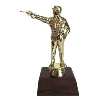 Pistol Man Figurine