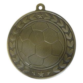 Embossed Soccer Medal