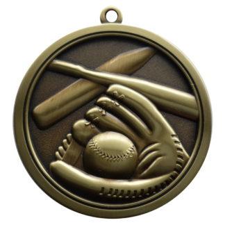 Hi-Relief Softball Medal