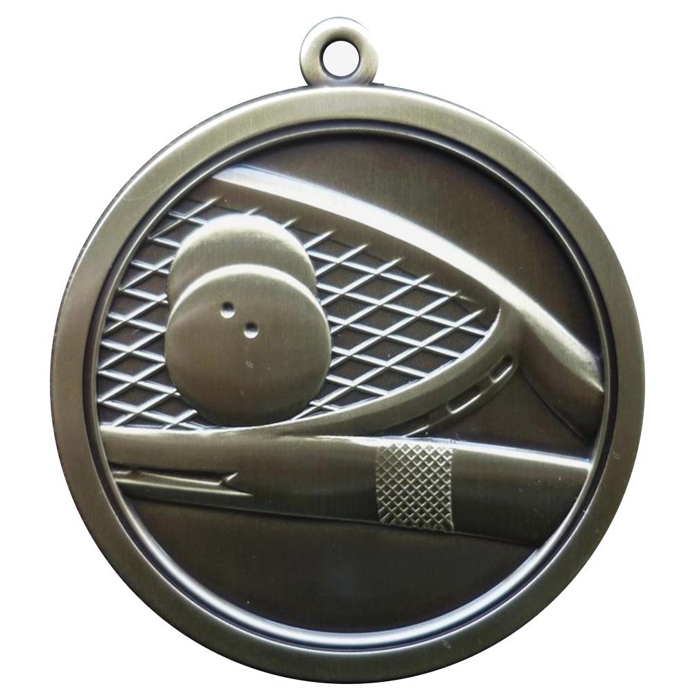 Hi-Relief Squash Medal