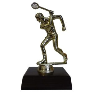 Squash Man Trophy Figurine