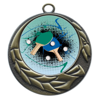 50mm Insert Table Tennis Medal