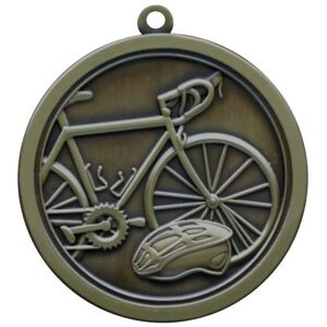 Hi-Relief Cycling Medal