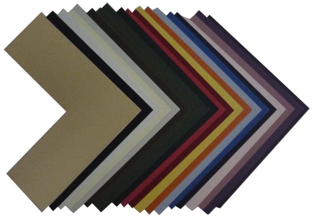 Picture Framing Matboard Samples