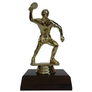 Table Tennis Man Figurine
