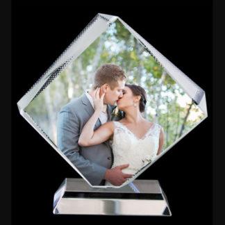 Exquisite Crystal Photo Display