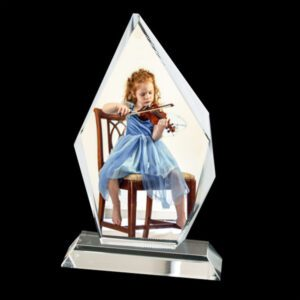 Crystal Iceberg Photo Display