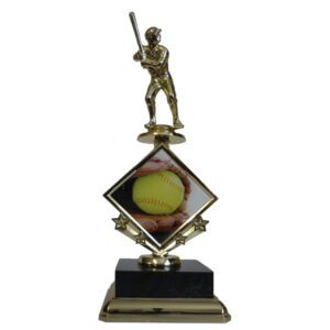 Softball Star Insert Trophy